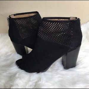 Report Suede Perforated Booties